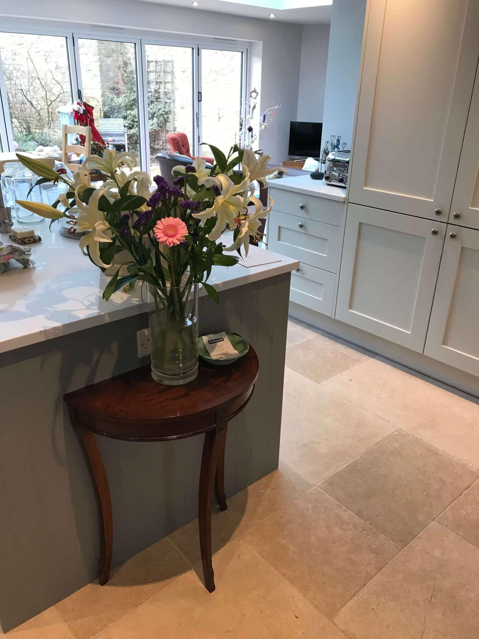 Bespoke kitchen and flooring
